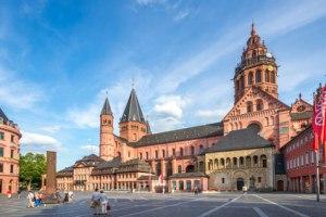 Mainz - Domplatz & Mainzer Dom