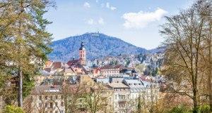Baden-Baden - Panorama-Ansicht