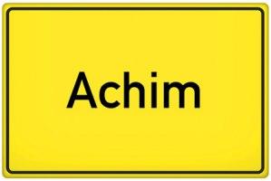 Ortsschild Achim