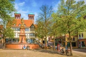 Bensheim Marktplatz