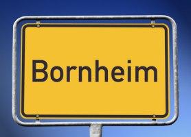 Ortsschild Bornheim