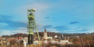 Blick auf die Altstadt von Castrop-Rauxel