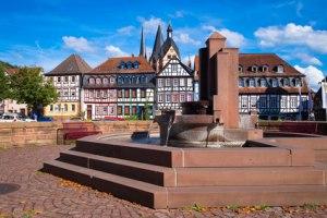 Marktplatz von Gelnhausen