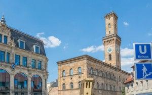 Rathausplatz in Fürth