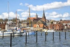 Stadtansicht von Flensburg