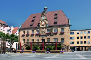 Rathaus der Stadt Heilbronn