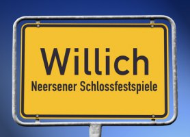 Ortsschild Willich
