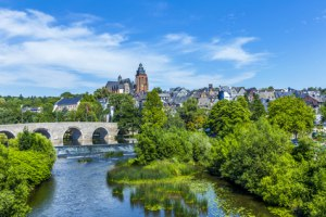 Alte Lahnbrücke in Wetzler