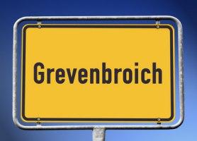 Ortsschild Grevenbroich
