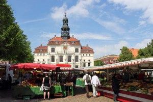 Markt am Rathaus Lüneburg