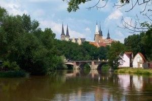 Schloss und Dom der Stadt Merseburg