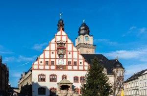 Rathaus in Plauen
