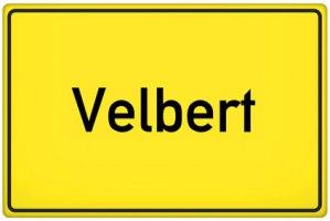 Ortsschild Velbert