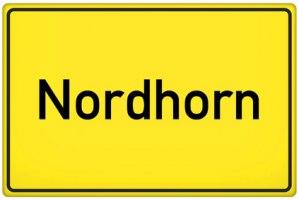 Ortsschild Nordhorn