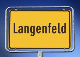 Ortsschild Langenfeld