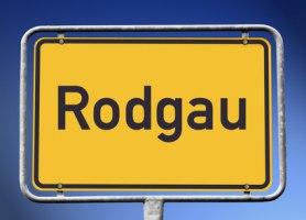Ortsschild Rodgau
