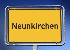 Ortsschild Neunkirchen