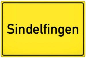 Ortsschild Sindelfingen