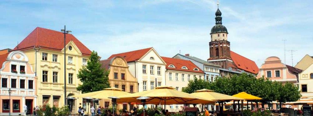 Rechtsanwälte in Cottbuss (hier: Marktplatz)